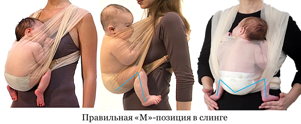 Слинги для грудничков своими руками 1