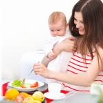 Списки продуктов, полезных кормящей маме