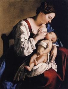 Орацио. Мадонна с младенцем.