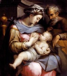 Орацио Самаччини. Святое Семейство