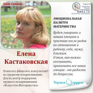 спикер Кастаковская
